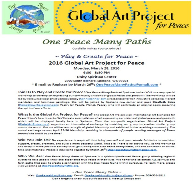 OPMP_Global Art Project for Peace_March 2016